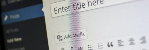 WordPress   comment écrire article plusieurs