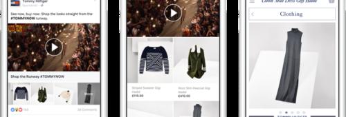 Facebook   lancement «Collection»  nouveau format publicitaire mobile