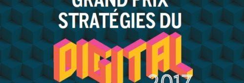 Grand Prix Stratégies Digital 2017   palmarès