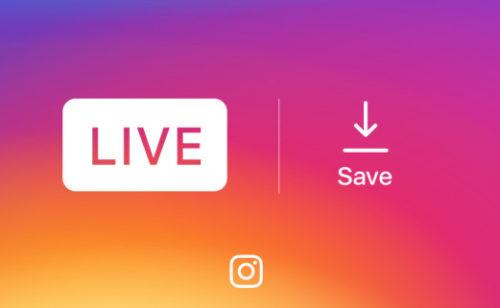 Instagram   pouvez sauvegarder vidéo live téléphone