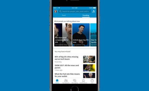 LinkedIn lance les Trending Storylines, un fil d'actualités oritentées business