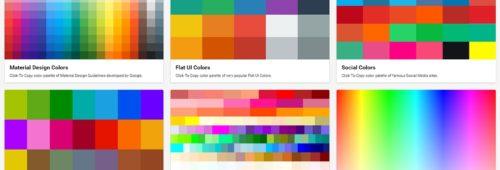 Material UI   8 outils pratiques trouver couleur icône