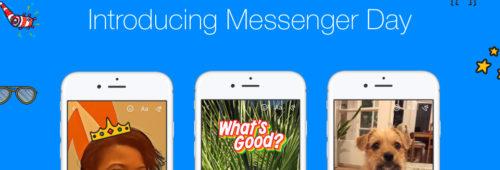Journée Messenger   stories débarquent Facebook Messenger