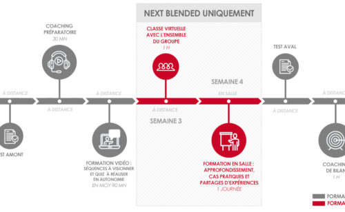 Demos lance NExT  formations mixtes 100% digital