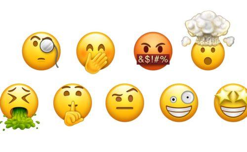 liste définitive 69 nouveaux emojis 2017
