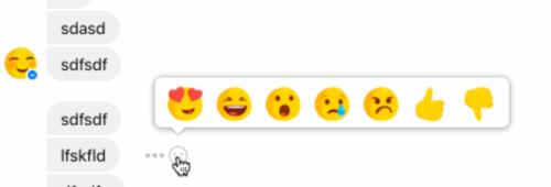 Facebook   réactions Messenger bouton «Je n'aime pas»