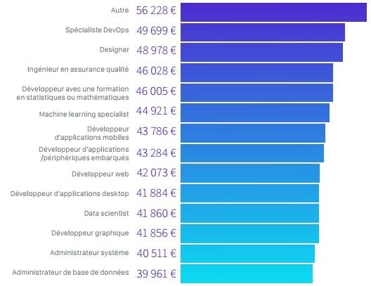 Les d veloppeurs en france en 2017 profil salaire technologies langages emploi blog - Ingenieur bureau d etude salaire ...