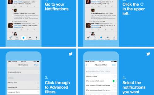 Twitter   nouvelles options lutter contre spam harcèlement