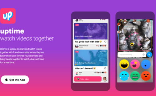 Uptime  l'application expérimentale Google regarder Youtube groupe