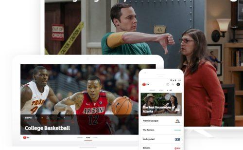YouTube TV   44 chaînes télévision 35 dollars mois  uniquement USA