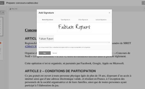 Eversign   outil simple signer tous documents sans imprimer