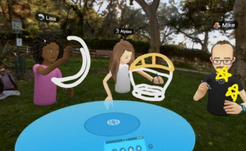 Facebook Spaces   espace virtuel entre Sims Second Life