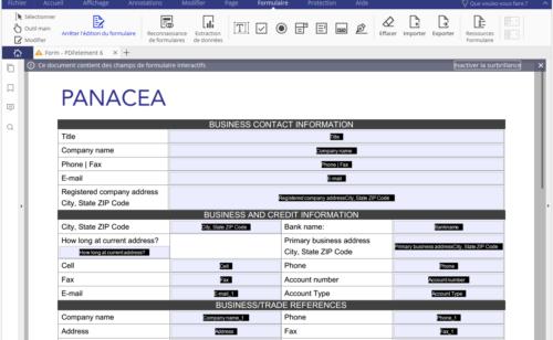 5 outils créer formulaire PDF