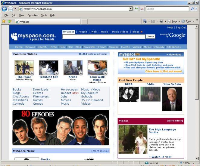 MySpace efface accidentellement 12 ans de musique