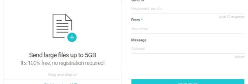 outil gratuit transférer lourds fichiers (jusqu'à 5 Go)   pCloud