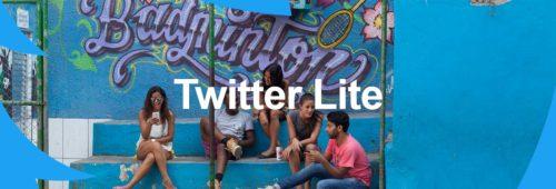 Twitter Lite   nouvelle version web mobile économiser données