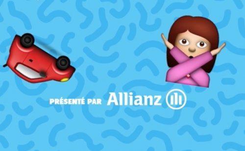 Comment Allianz utilise Snapchat faire prévention routière