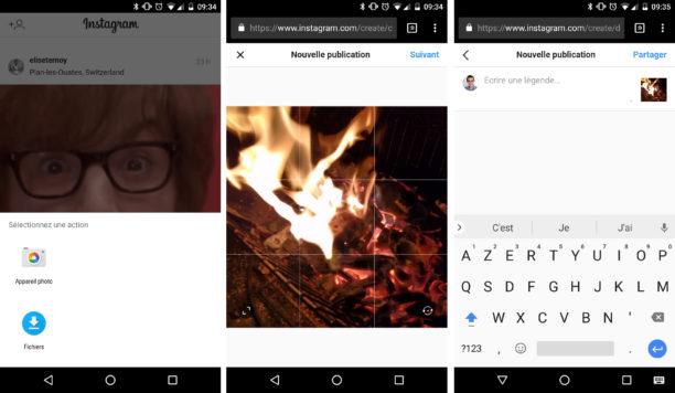 Instagram : publier une photo depuis son navigateur, c'est désormais possible