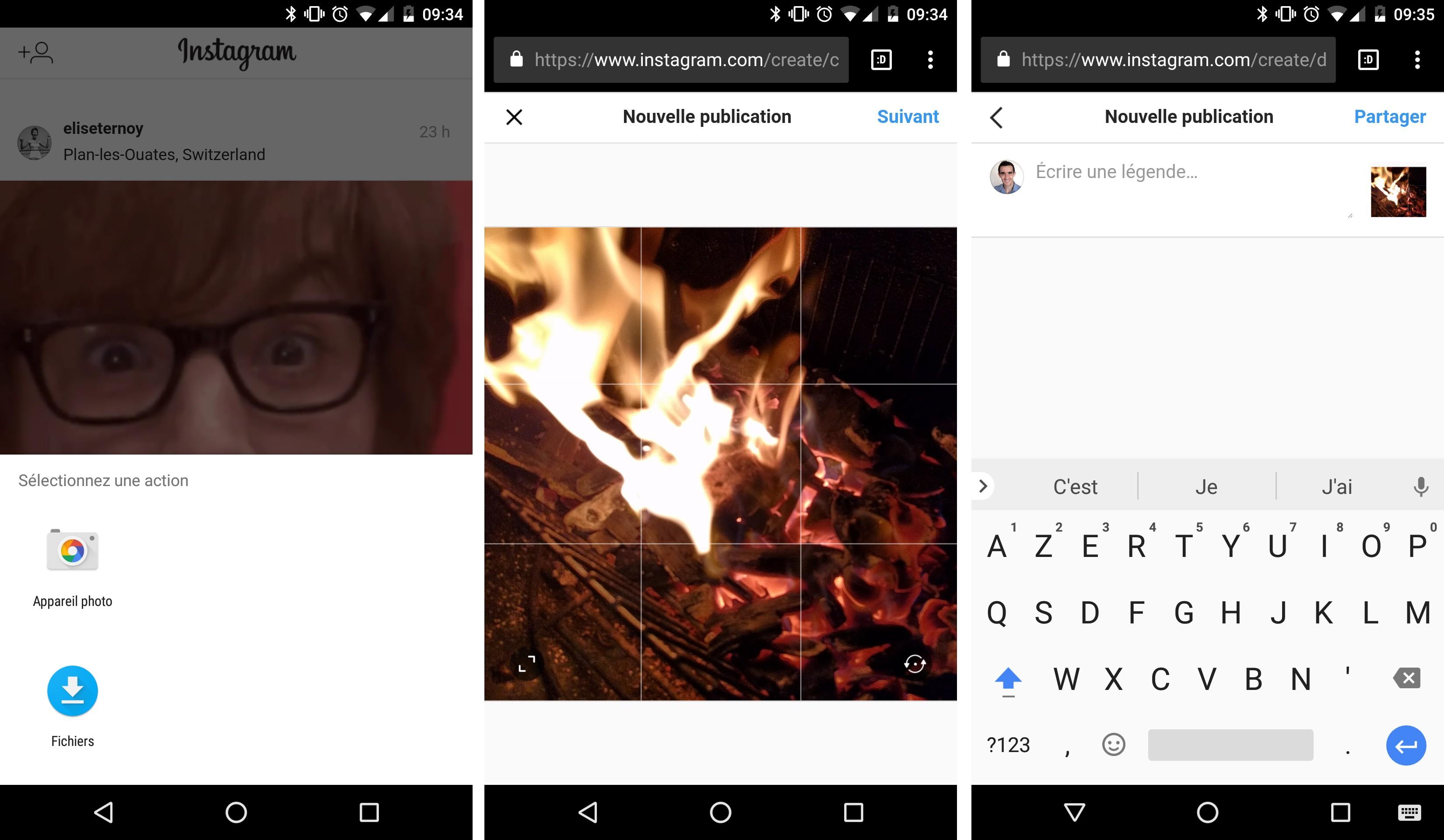 Avec Instagram, poster depuis un navigateur web sur son ordinateur ou mobile. Ce plugin permet de publier des photos directement sur votre compte Instagram en les Les solutions sont donc nombreuses pour vous permettre de poster vos photos Instagram depuis votre Mac ou PC, ou...
