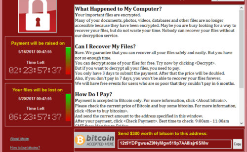 Cyberattaque ransomware   comment protéger virus Wanna Cry (WannaCrypt)