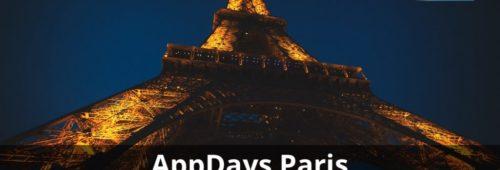 AppDays   rendez-vous l'écosystème mobile  15 16 novembre Paris