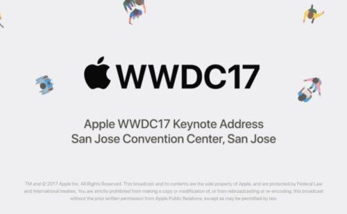 Apple WWDC 2017   toutes nouveautés