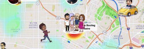 Snapchat   carte Snap Map  accéder snaps géolocalisés amis