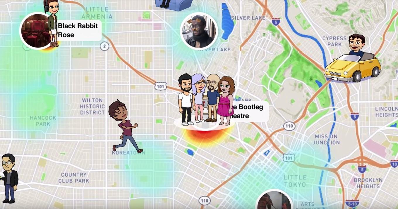 localiser iphone snapchat