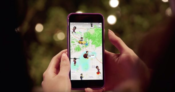 how to watch snapchat map
