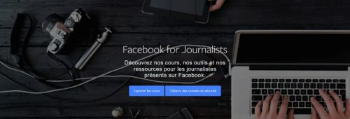 Google Facebook proposent formations gratuites journalistes