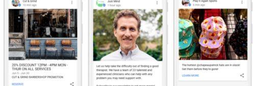 Google Posts   entreprises peuvent publier leurs messages directement Google