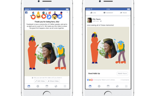 2 milliards d'utilisateurs Facebook