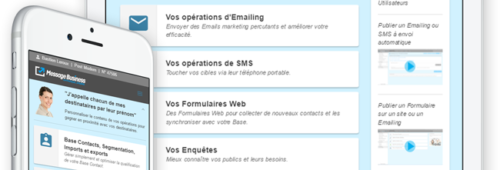 Message Business   plateforme d'email marketing complète  simple puissante