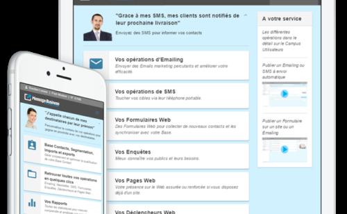 Message Business   plateforme d'email marketing complète  simple puissante