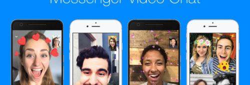 appels vidéo s'améliorent Messenger   réactions animées  filtres  masques  captures d'écran…