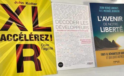 Agilité  développement  transformation numérique   3 livres découvrir gagner