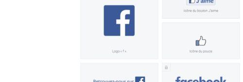 Réseaux sociaux   logos télécharger  couleurs règles respecter