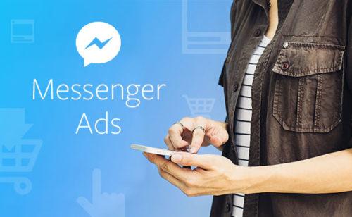 De publicité Facebook Messenger