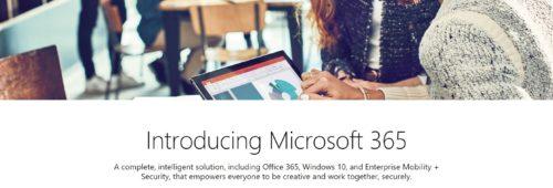 Microsoft 365   suite logicielle entreprises  Office 365 Windows 10
