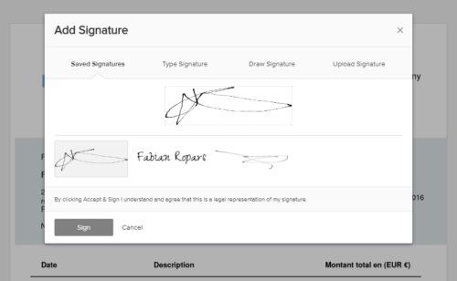 Online Signature   outil simple gratuit signer documents ligne
