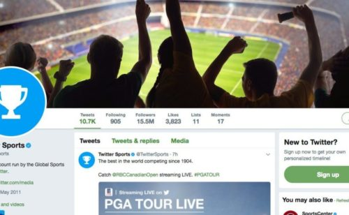 Twitter annonce «Stadium»   service vidéo dédié sport lancé cet automne