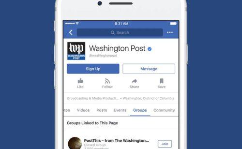 Facebook lance groupes pages dédiés «super fans»