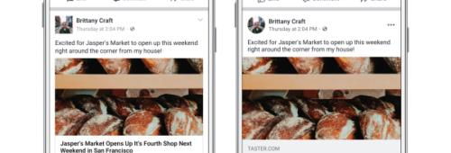 Facebook s'offre nouveau design mobile   photos circulaires  commentaires…