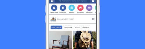 Facebook lance Marketplace France