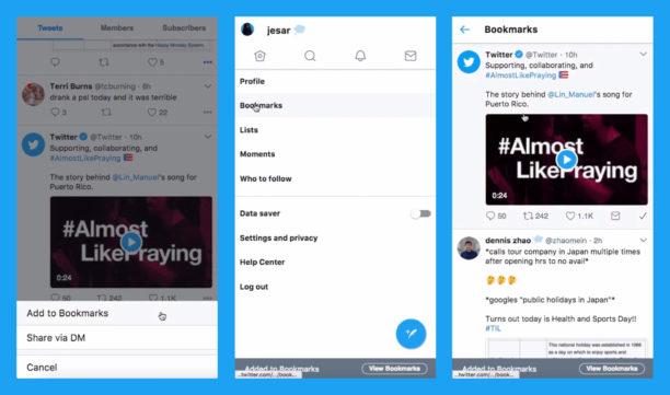 Twitter : vous pourrez bientôt sauvegarder des tweets en privé, #SaveForLater