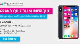 Grand Quiz du Numérique 2017, fin du concours à 14h !