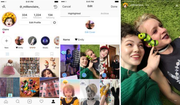 Les archives rendent vos stories permanentes — Instagram Stories