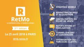 RetMo : une journée dédiée au commerce sur mobile, le 25 avril à Paris