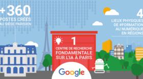 Google ouvre 4 lieux physiques de formation au numérique en France