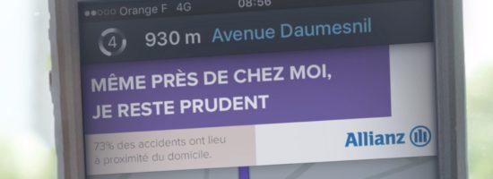 Comment Allianz détourne Waze pour prévenir les accidents de la route